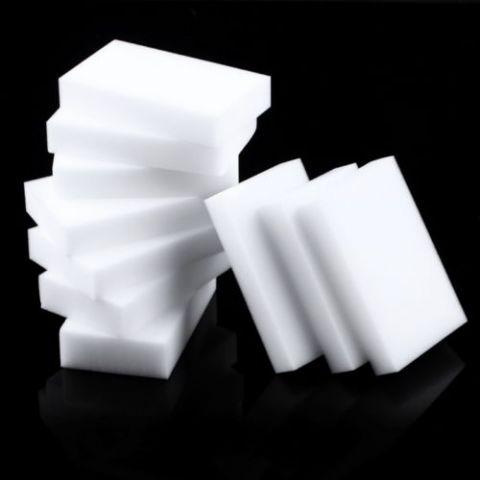 Меламиновая губка - польза и вред популярного чистящего изделия