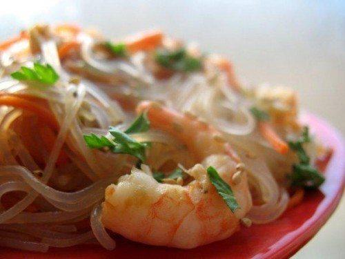 Изюминка азиатской кухни фунчоза - польза и вред