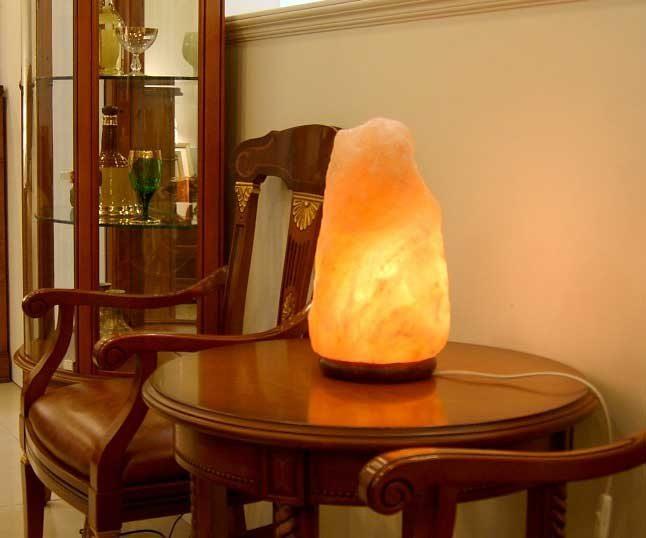 Солевые лампы - польза и вред природного светильника
